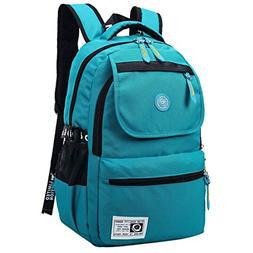 Super Modern Unisex Nylon School Bag Waterproof Hiking Backp