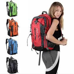 Nylon Travel Sports Shoulder Backpack Hiking Waterproof USB