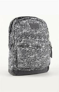 c76275c52806 O Neill Calder Gray Cheetah Print Soft Side Laptop Backpack