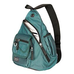 Vanlison One Strap Sling Bag Backpack Cross Body 13-inch 14