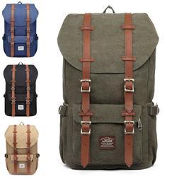 original canvas travel backpack satchel laptop carry