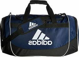 ADIDAS DEFENSE MEDIUM NAVY BLACK Duffel Sport Gym Bag Luggag