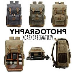 Outdoor Premium Vintage Photography Backpack Waterproof Phot