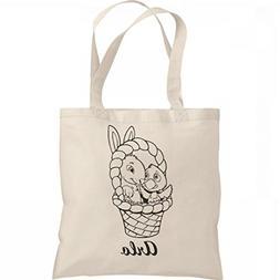 Color Your Own Easter Bag Arlo: Liberty Bargain Tote Bag