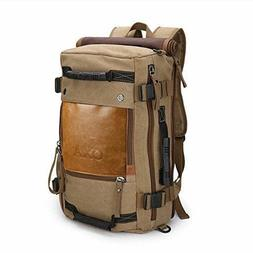 OXA Canvas Backpack/Travel/Duffel/Rucksack/Laptop/Computer/H