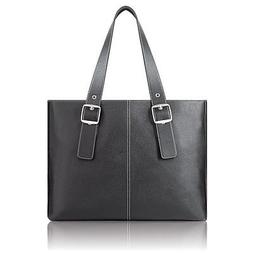 """SOLO PLAZA Classic Laptop Tote safely fits the 17"""" MacBook -"""