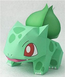 Pokémon Crafts Paper DIY easy Very Cute-ISANGHESSI-brain 3D