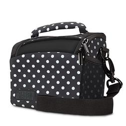Bridge Camera Bag Polka Dot w/Protective Neoprene Material,