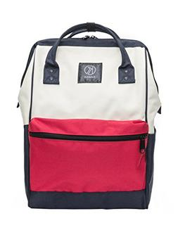 Kah&Kee Polyester Backpack with Laptop Compartment Waterproo
