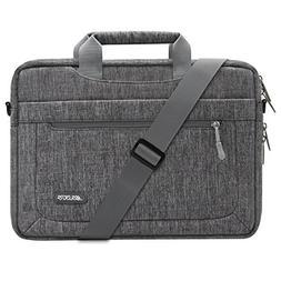 MOSISO Polyester Messenger Laptop Shoulder Bag Compatible 11