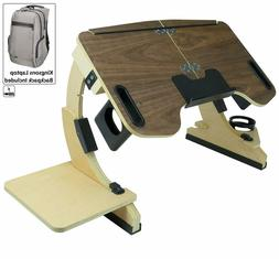 Portable Desk Laptop Bed Tray Notebook Stand Workstation wit