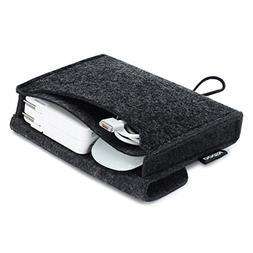 NIDOO Portable Felt Storage Pouch Bag Case for Accessory  -