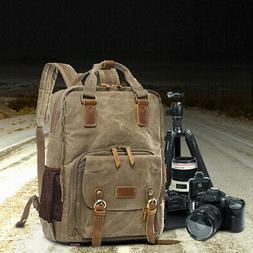 Premium Vintage Photography Backpack Waterproof Photography