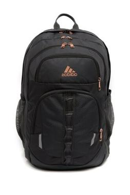 Adidas Prime V Laptop Backpack Carbon Rose Gold New
