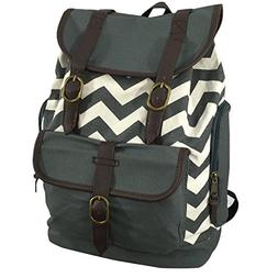Canvas Bookbag Vintage Cotton Laptop Backpack Fashion Daypac