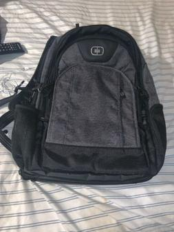 "Ogio Prospect Professional Utility Backpack Gray Fits 17"" La"