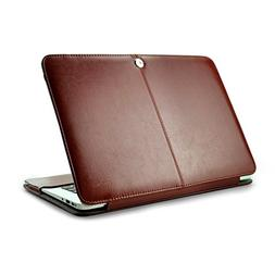 ZinMark 13 Inch Laptop Cover Leather Case, Compatible with 1