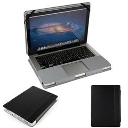 VanGoddy PU Leather Laptop Folio Sleeve Case Book Cover For