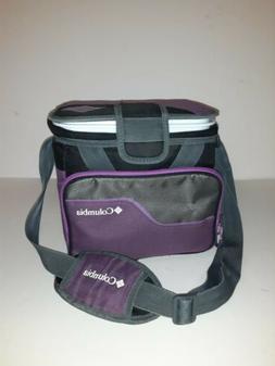 Columbia Purple Zipperless Hardbody Thermal Cooler Pack Lunc