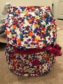 Kipling RAVIER Medium Printed Backpack, Pentagram