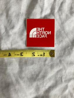 """The North Face Red Decal Sticker 2.5"""" New Free Shipping"""
