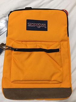 "Jansport Right Pack Sleeve Orange Gold 15"" Laptop Backpack"