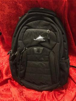 High Sierra RIPRAP Everyday Backpack Padded Laptop Sleeve Fl