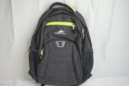 "High Sierra Riprap Lifestyle 20"" Backpack, Gray/Green Can Ho"