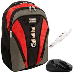 VanGoddy Rivo Rugged Anti-Theft Laptop Backpack w/ Wireless