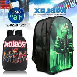 43766d40255 Roblox Backpack Children Boys School Bag Student Laptop Kids