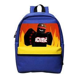 Roblox Games Soft Mini Students Zipper Rucksack Laptop