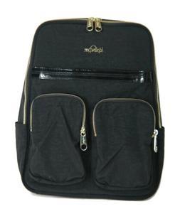 78eafb41270 Kipling Sandra Black Patent Combo Laptop Backpack