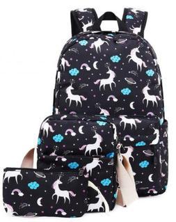 School Backpack for Girls Kids Boys Laptop Bags Bookbags Set