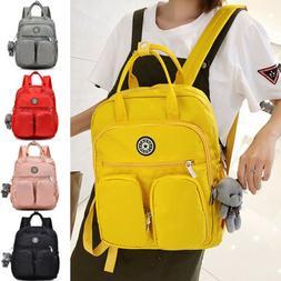School Backpack Teenage Girl Women Laptop Backpacks Nylon Wa