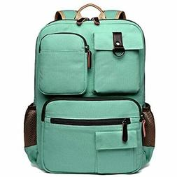 School Backpack Vintage Canvas Laptop Backpacks Men Women Ru