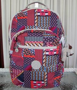 Kipling Seoul Backpack Laptop Protection Printed Dream Patch