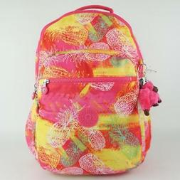 KIPLING SEOUL GO L Backpack with Laptop Protection Festive P