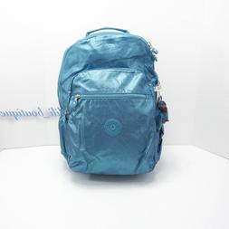 Kipling Seoul GO Turkish Tile Metallic Laptop Backpack, Tksh