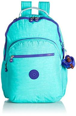 Seoul L Solid Laptop Backpack, Breezy Turquoise