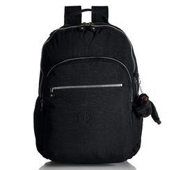 Seoul L Solid Laptop Backpack, Black