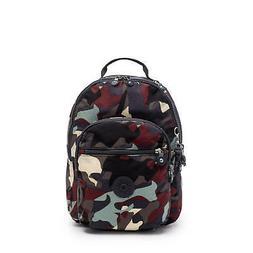 Kipling Seoul Small Tablet Printed Backpack Camo L