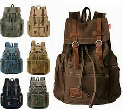 shoulder satchel canvas leather 15 17 laptop