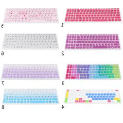 Silicone Keyboard Cover Skin for Lenovo 510S Laptop Notebook