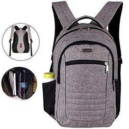 Advocator Slim Business Backpack with Padded Sleeve for Lapt