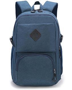 Weekend Shopper Slim Laptop Backpack School Backpack with La