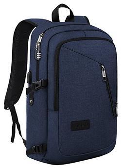 Slim Laptop Backpack, College School Travel Bag for Women &
