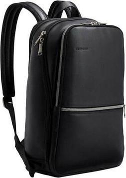 Samsonite Slim Leather Backpack Black 126036-1041