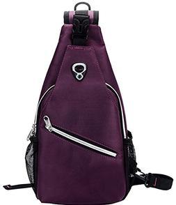 Freedi Sling Bag Chest Shoulder Crossbody Backpack Men Women