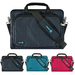 Soft Neoprene Handle Shoulder Strap Sleeve Case Cover for 14