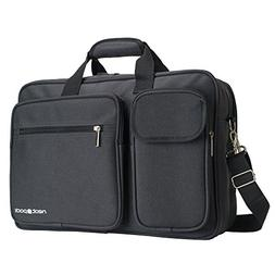 NeatPack Soft Sided Laptop Computer Briefcase Bag With USB C